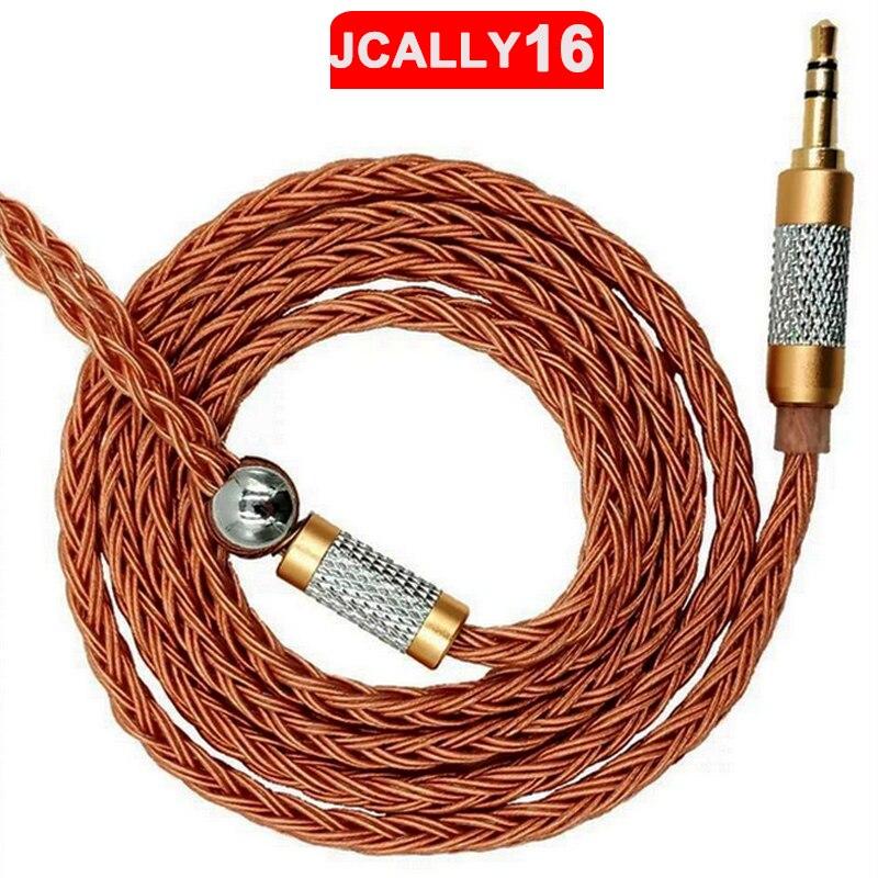 JC16 6N OFC 16 acciones 480 núcleos Cable de actualización de auriculares para se215 se535 0,78mm IE80 MMCX IM A2DC zsnn QDC UE serie