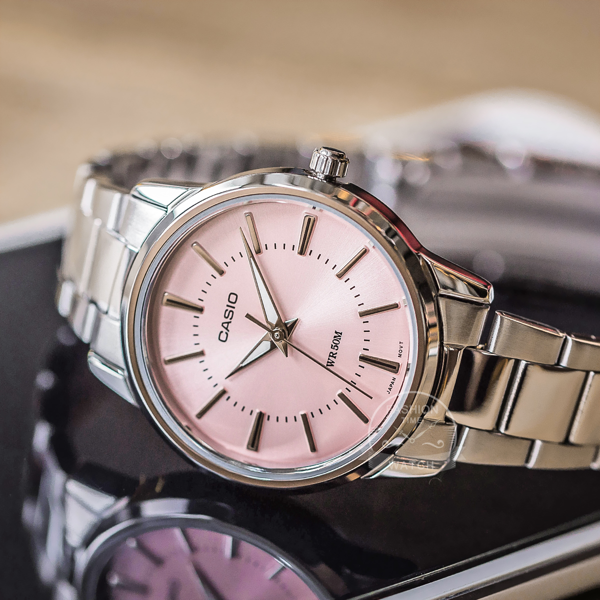 Часы Casio женские наручные часы Set top brand люкс Водонепроницаемые кварцевые наручные часы Светящиеся женские часы Спортивные часы женские relogio feminino reloj mujer montre homme bayan kol saati zegarek damski - 3