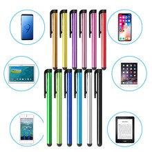 10 unids/lote bolígrafo Stylus Universal teléfono móvil Android pantalla táctil capacitiva pluma de escribir dibujo para Tablet haga clic en lápiz