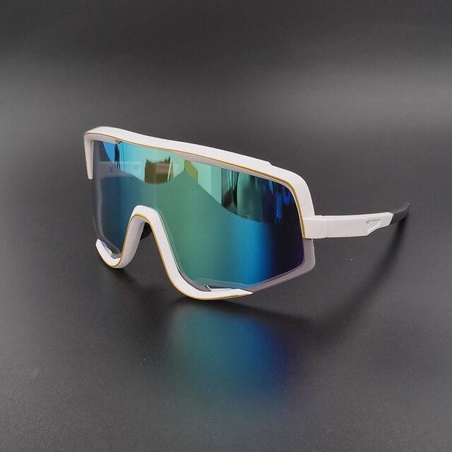 Esporte ciclismo óculos uv400 das mulheres dos homens 2020 mountain road bike óculos de sol masculino mtb bicicleta correndo óculos de pesca caso 6