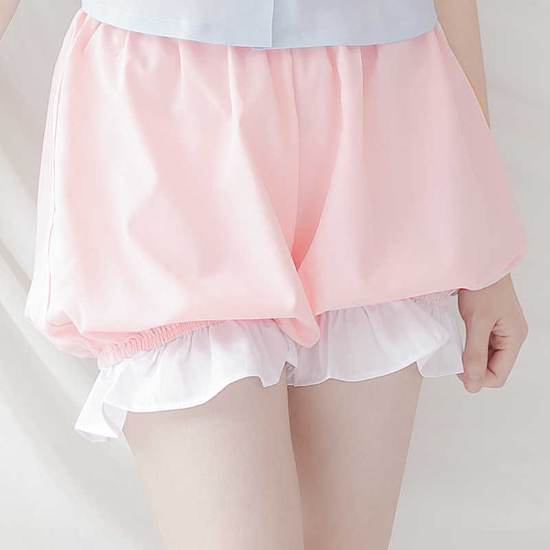 Dolce Cosplay Lolita Bloomers Shorts per la Ragazza di Estate Chiffon Shorts