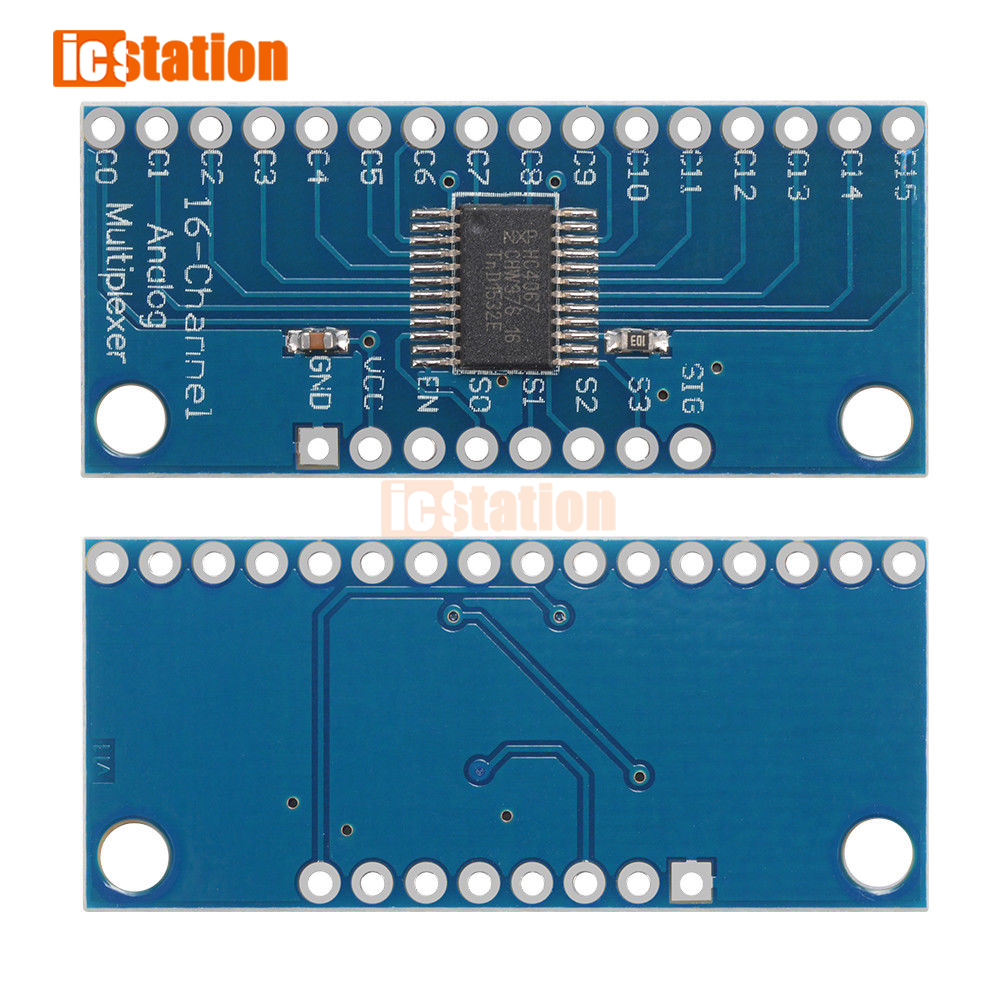 16CH Analog Digital MUX Breakout Board CD74HC4067 Precise module Arduino