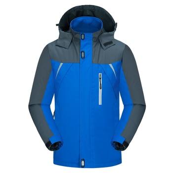 Spring Men's Coats 4XL Casual Hooded Mens Windbreaker Windproof Waterproof Brand Male Jackets J6T200