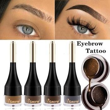 1PC Eyebrow Gel Eyebrow Kit Brow Gel Waterproof Dyed Brow Professional Makeup Cosmetics For Eyebrow Enhancers Cream 1