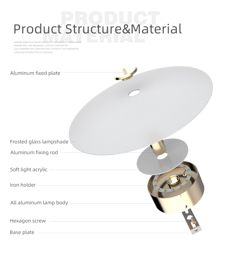 Hca60d5649de541a88090ed95bcc168dc5 - Aisilan LED wall Light Nordic light luxury bedroom bedside lamp with switch entrance porch wall lamp