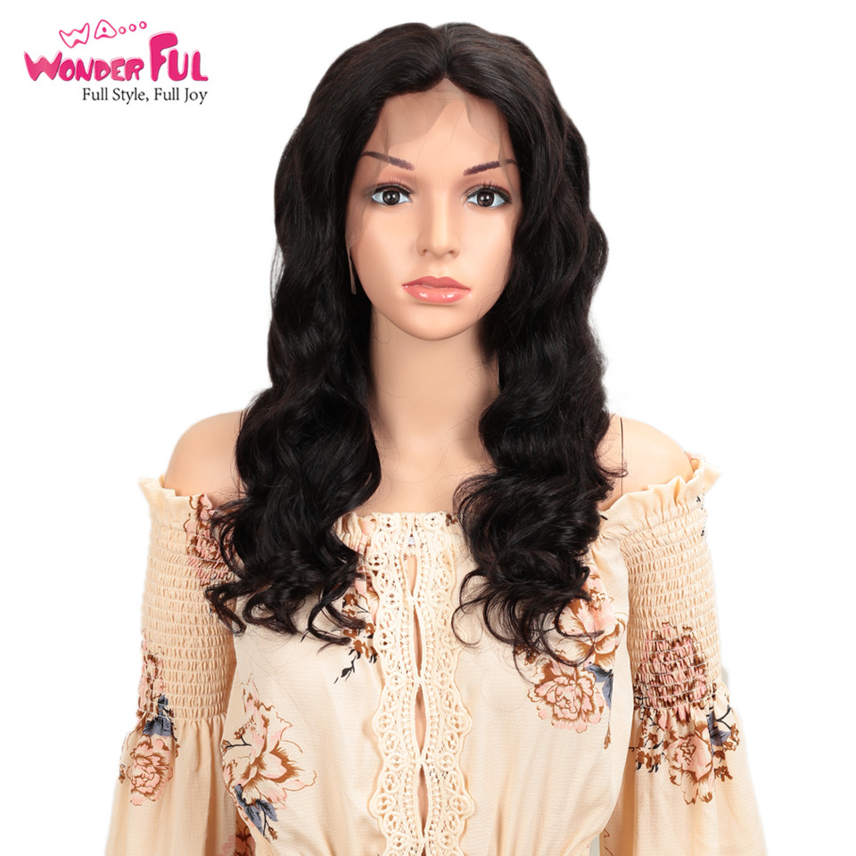 Brazilian Loose Wave Wig Remy Hair Pre Plucked 13x4 Lace Front Human Hair Wigs With Baby Hair 8 To 28 Inch For Africa Market