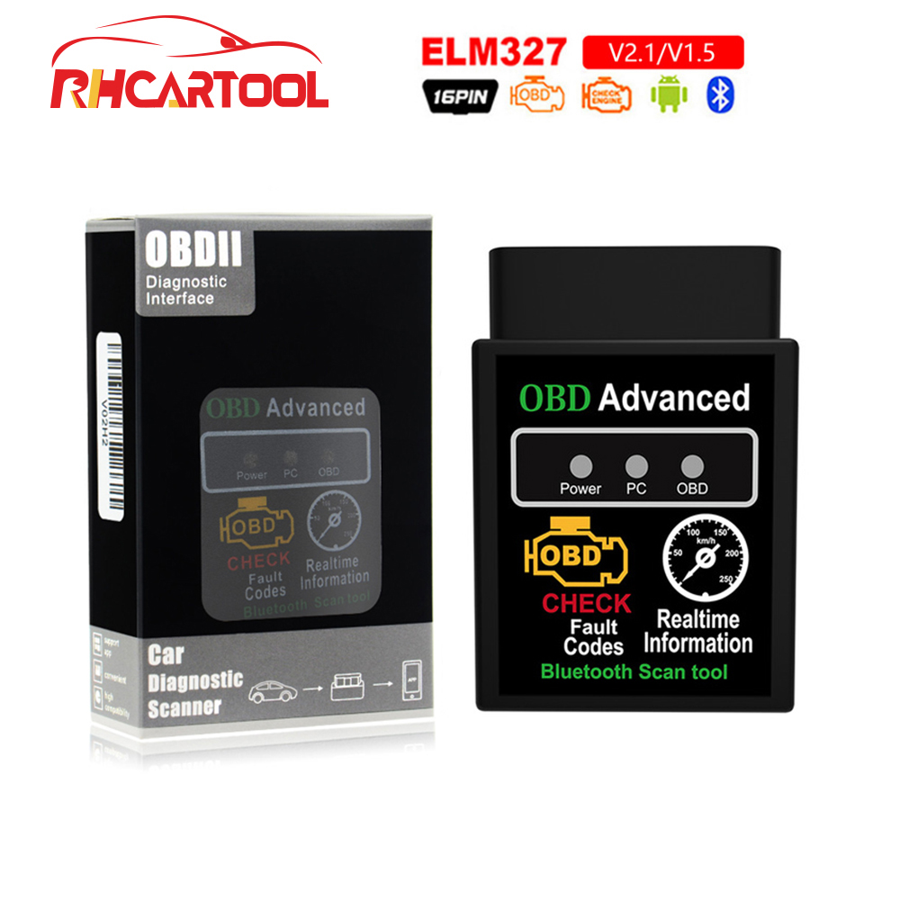 Mini ELM327 OBD2 II Auto Car OBD2 Diagnostic Interface Scanner Bluetooth Tool SE