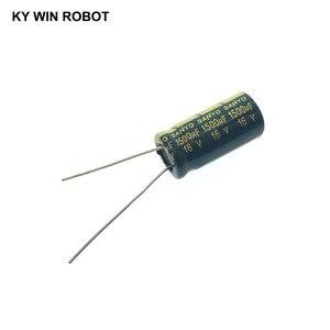 Image 2 - 10 قطعة مكثفات كهربائية 1500 فائق التوهج 16V 10x20 مللي متر 105C شعاعي عالية التردد مقاومة منخفضة مُكثَّف كهربائيًا