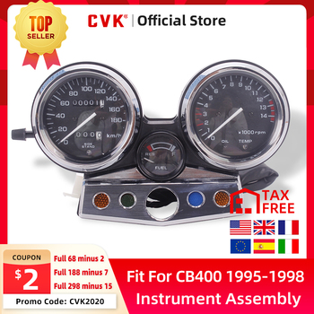 цена на CVK Instrument Assembly Gauges Meter Cluster Speedometer Odometer Tachometer For HONDA CB400 CB400SF MC31 1995 1996 1997 1998 CB