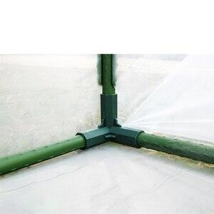 Image 4 - Plant Luifel Connector Pijler Fittings Plastic Staal Pijp Wijnstok Frame Kas Beugel Montage Aansluiten Onderdelen Tuingereedschap