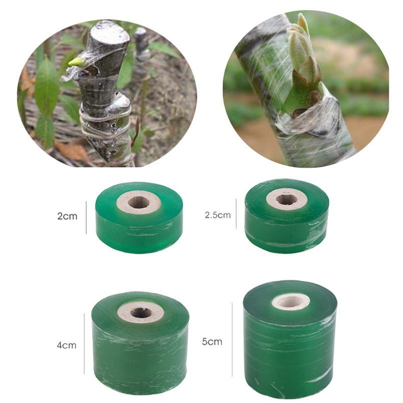 Waterproof Grafting Tape Grafting Film Plant Bundle With Fruit Tree Grafting Protective Film Self-adhesive Not Knotted 30D12