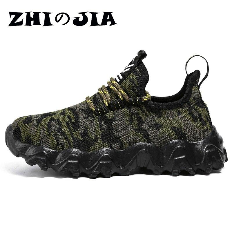 2021 Casual Kid Sneaker Children Running Sport Shoes camouflage Shoes Boy Basket Tenis Breathable Footwear zapatillas de deporte