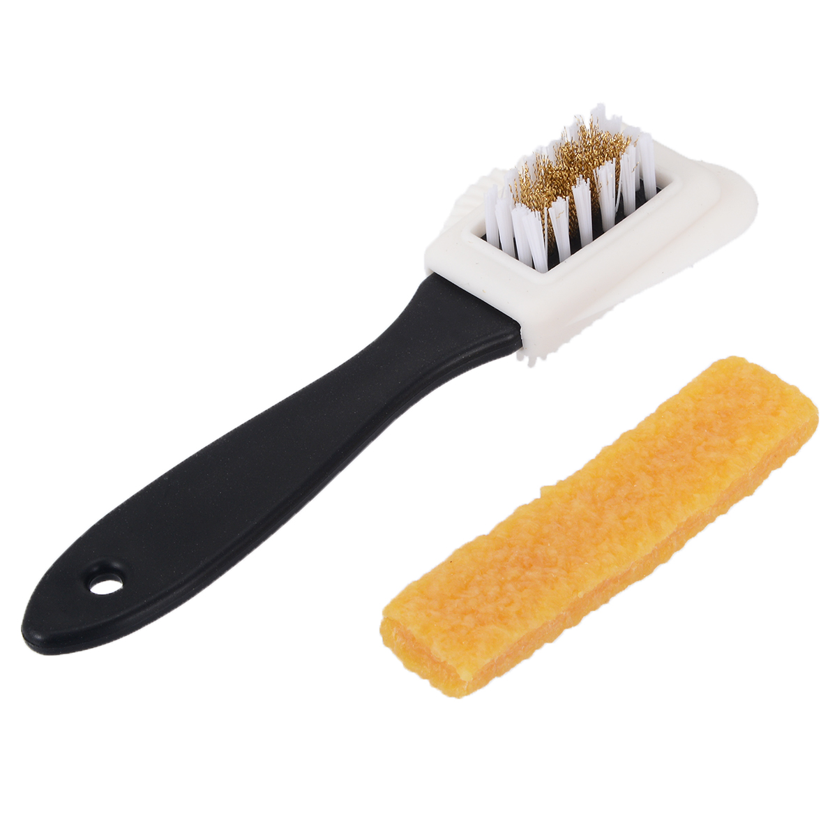 Jixing Double Side Cleaning Shoe Brush Rubber Eraser Set S Shape Shoes Cleaner