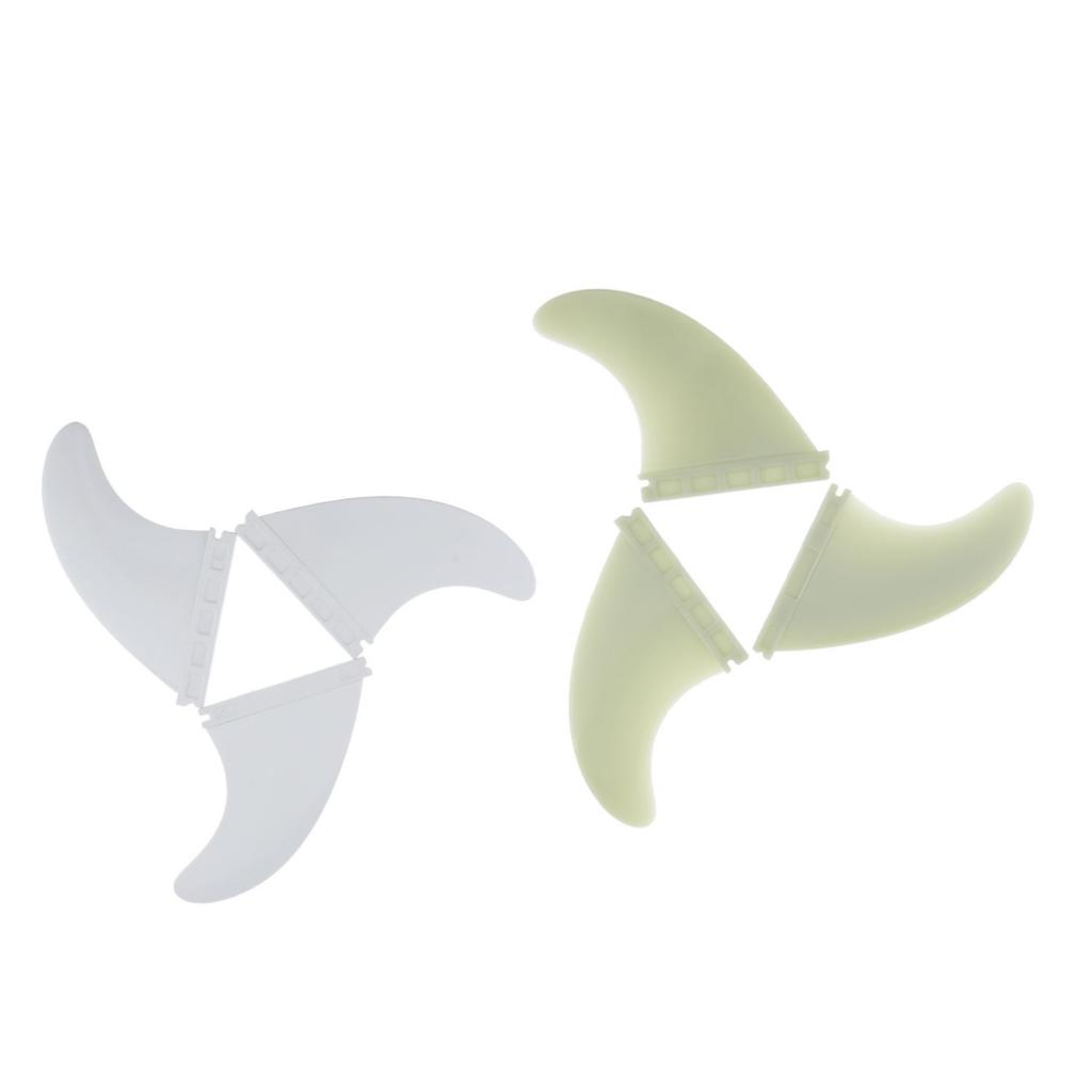 3x Performance Surf Surfboard Fins For Kids And Adults Size G5  Various Colors Surfboard Fins