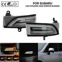 Dynamic Blinker Clear Side Mirror indicator For Subaru Crosstrek Forester Impreza 2.0L Legacy Outback WRX STI Turn Signal Light