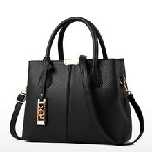 Women PU Leather Handbags Ladies Large Tote Bag Shoulder Bag Females Messenger Bags Crossbody Bags Black Blue Bolsas Feminina цена в Москве и Питере