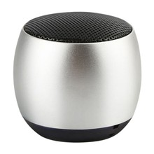 Metal Outdoor Wireless Sound Box With Mic Ultra Portable TWS Bluetooth Speaker Bluetooth 4.2 Transmission beach sand scoop shovel hunting tool stainless steel accessories for metal detector mjj88