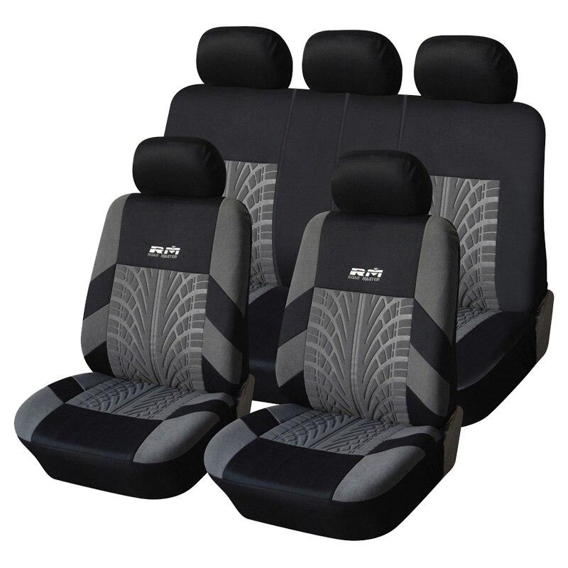 Housse de siège Auto intérieur housse de protection de siège pour vw amarok jetta 4 6 mk5 mk6 polo 9n 6r berline tiguan mk2 touareg
