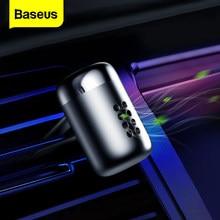 Baseus Mini aromaterapia odświeżacz powietrza do samochodu perfumy dla samochód odpowietrznik dyfuzor-oczyszczacz powietrza stałe zapach Parfum zapach Auto Aroma
