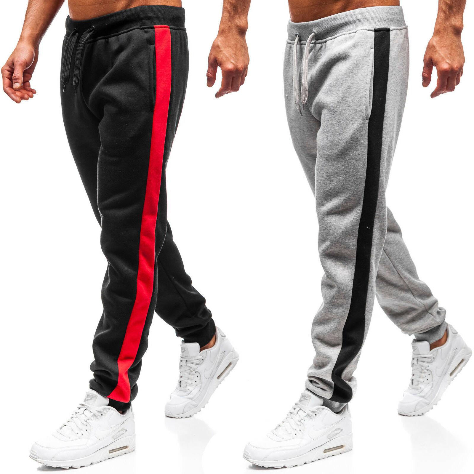 1029.72руб. 35% СКИДКА|Брюки мужские 2020 новые мужские спортивные брюки повседневные Лоскутные свободные мужские брюки|Повседневные брюки| |  - AliExpress