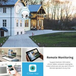 Image 5 - Hamrolte HD1080P Wifi Camera H.265x Mini Pan/Tilt Onvif IP Camera Nightvision Motion Detection ICsee Waterproof Outdoor Camera