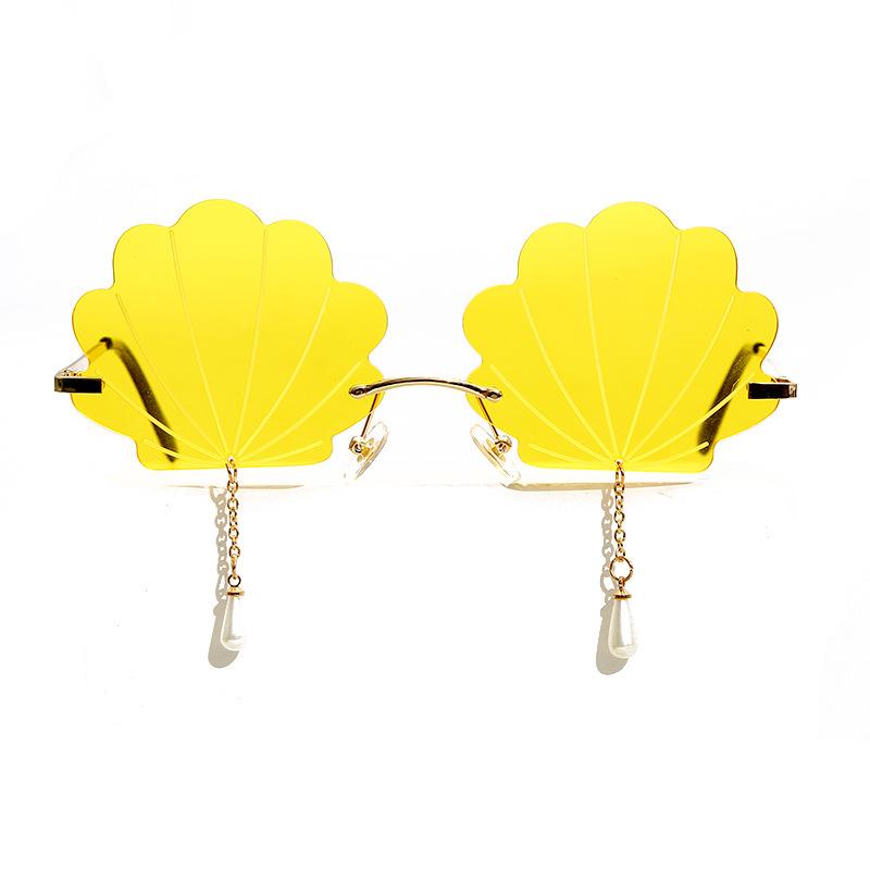 Стильный чехол без оправы солнцезащитные очки es для женщин