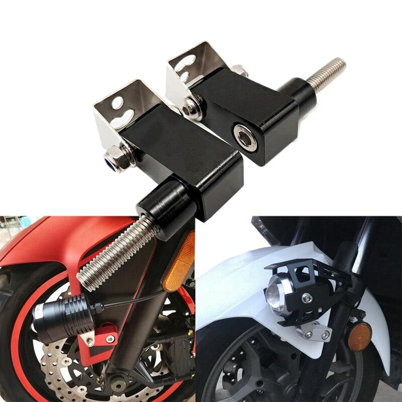 Otomobiller ve Motosikletler'ten Far Braketi'de Motosiklet alt çatal spot tutucu ışıkları lamba için montaj braketi BMW G310GS G310R F650GS F700GS F800GS F800R R1200RT HP2 title=