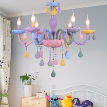 Kids room Chandelier Lighting for Living room Bedroom Kitchen Girl room Chandelier Lamp Macaron Multicolor Chandelier 200 unique cool graffiti remote control car professional 2 4g high speed climbing 1 8 big wheels monster rc racing car truck wltoys