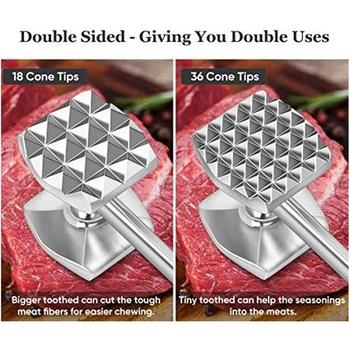 Urządzenie do rozbijania mięsa młotek Pounder do zmiękczania stek drób wołowy tanie i dobre opinie Hamburger makers CN (pochodzenie)