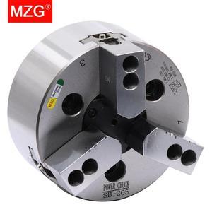 Image 5 - MZG SB 210 6 8 10นิ้ว3 Jaw Hollow Powerสำหรับเครื่องกลึงCNCตัดเจาะเครื่องมือเครื่องจักรกลหลุม