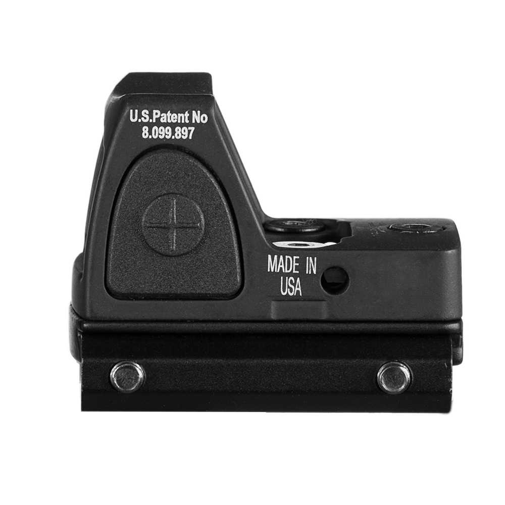 Mira telescópica para Rifle de caza Airsoft, mira telescópica de punto rojo RMR con Glock para reflejo, Weaver carril de 20mm, disponible en EE. UU.