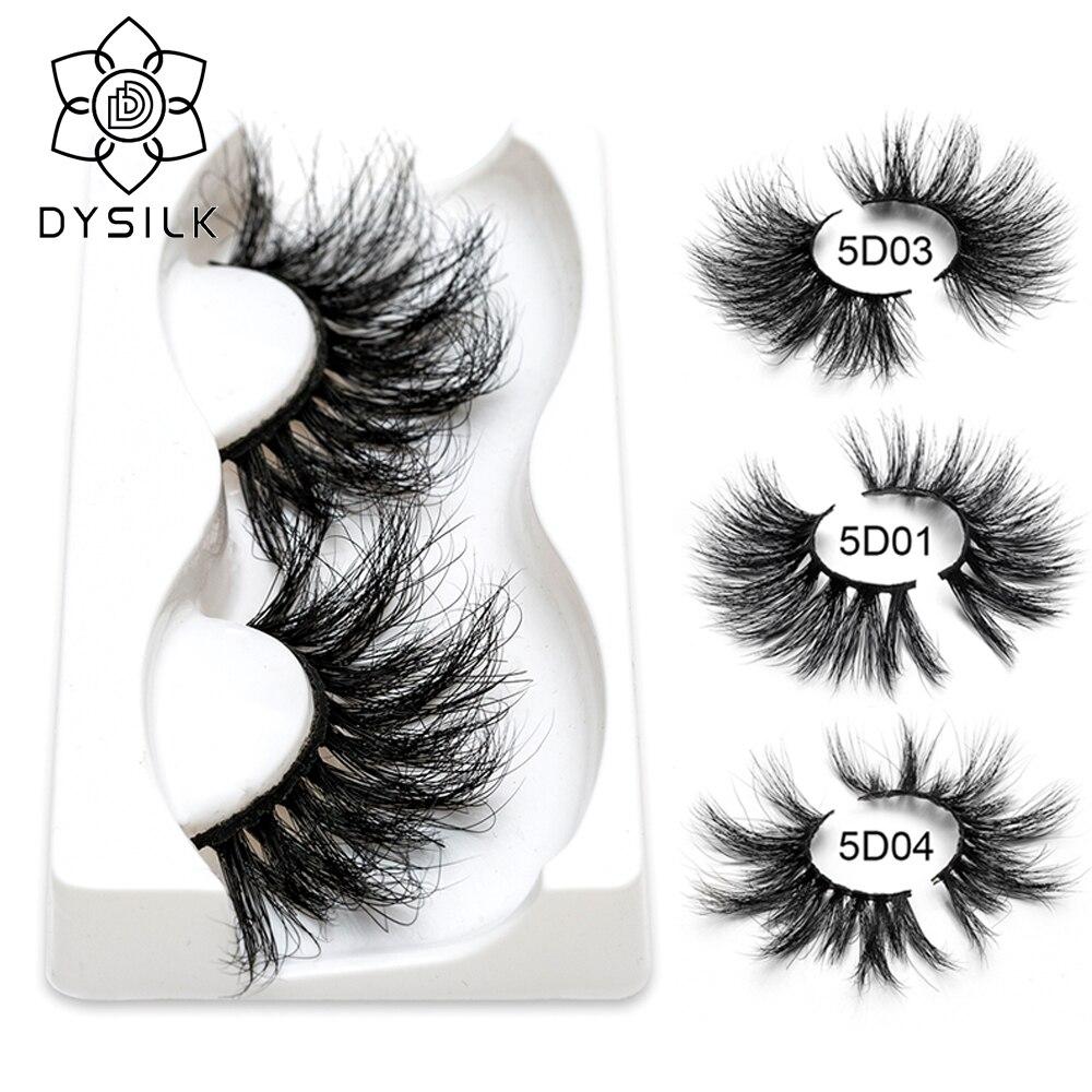 25mm Lashes 3D Mink Eyelashes 100% Cruelty Dramatic Eyelashes Fake Lashes Makeup 3D Mink Lashes Extension Eyelash Multi-layer