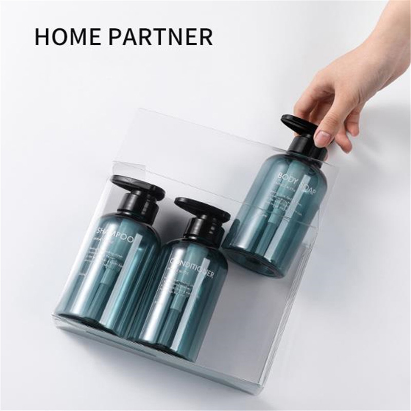 3 шт. бутылочка для шампуня в ванную большая емкость пресс-типа лосьон гель для душа бутылка для мыла