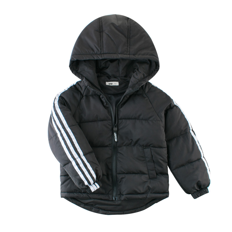 Autumn Winter Warm Jackets Girls Coats Boys Jackets Baby Girls Jackets Kids Hooded Outerwear Coat Children Clothes 1
