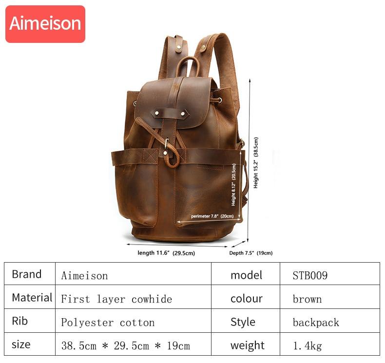 UNICALLING, роскошная сумка для фитнеса из натуральной кожи, большая вместительность, Стильная Спортивная кожаная сумка для спортзала, рюкзак, м... - 2