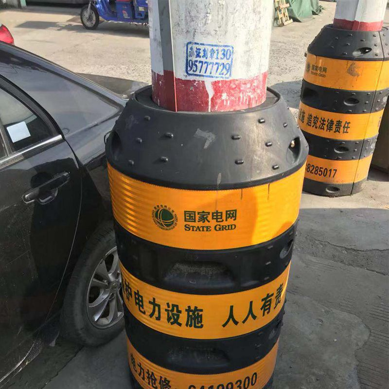 Electric Power Safety Barrel Film Electric Power Reflective Film Engineering Class Anticollision Article Telegraph Pole Anticoll