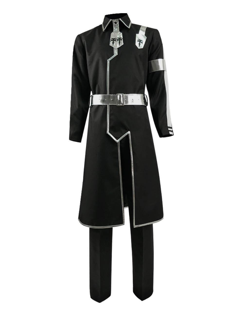 Cosdaddy Alicization SAO Kirito Cosplay Costume Black Battle Suit Game Costume Kirigaya Kazuto Anime Cosplay for Men Adult
