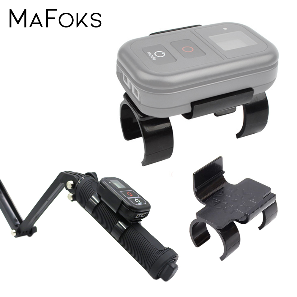Selfie Stick's <font><b>WiFi</b></font> <font><b>Remote</b></font> Control Clip Clamp Mount Lock Holder Adapter for <font><b>Gopro</b></font> Hero 7 6 5 4 3 image
