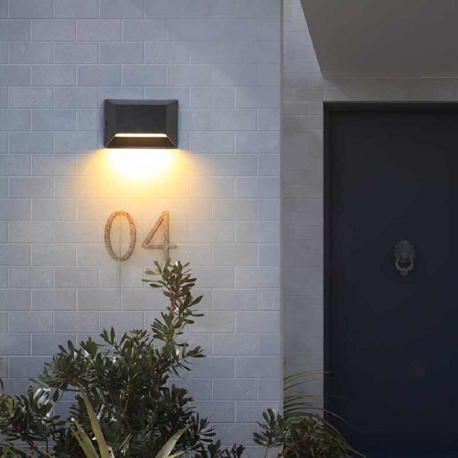 Modern Outdoor Lighting Wall Lamps Epistair Led Garden Wall Light Waterproof Aluminum 220v For Outside Front Door Garage Fence Outdoor Wall Lamps Aliexpress