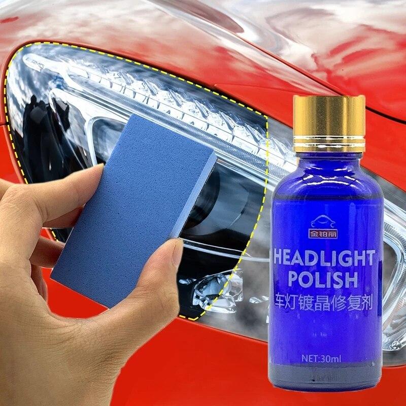 Kit de Solution de revêtement pour réparation de phares de voiture, 30ML, oxydation, revêtement de phare arrière, polissage, liquide anti-rayures, nouvelle collection