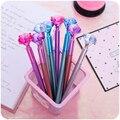 Милая гелевая ручка 0,5 мм, креативная фотография, милые цветные пластиковые нейтральные ручки для детей, письменные принадлежности для школ...