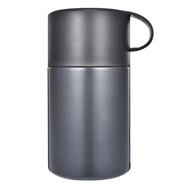 Gorąca sprzedaż 600Ml butelka próżniowa kolby pudełko na lunch utrzymać jedzenie ciepłe szczelne pojemniki ze stali nierdzewnej termiczny słoik na żywność przewoźnicy ręcznie