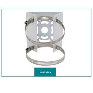Image 2 - OwlCat מחוץ CCTV מצלמה ברזל חישוק סוגר וידאו מעקב מוט הרכבה טור מחזיק סטנט מתכת