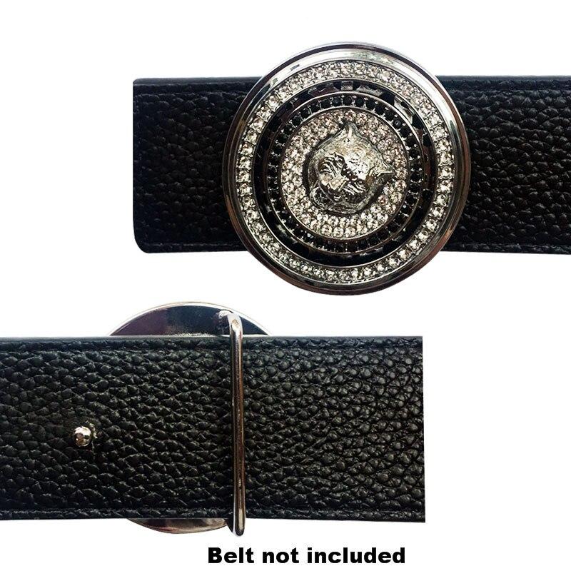Unique Men's Belt Buckles Head Fashion Cool Design Hebillas Para Cinturon Hombre Heavy Metal Accessories For Men Solid Brass