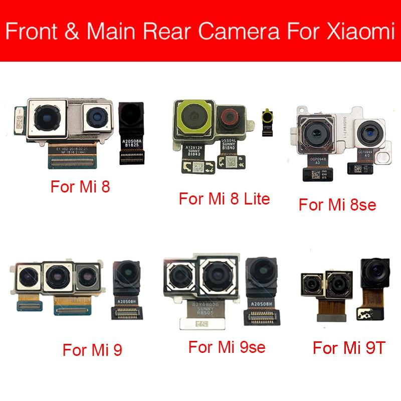 Front&Rear Camera For Xiaomi Mi 8 9 SE Lite 9T Pro/For Redmi K20 Pro Back Main&Small Facing Camera Flex Cable Replacement Parts