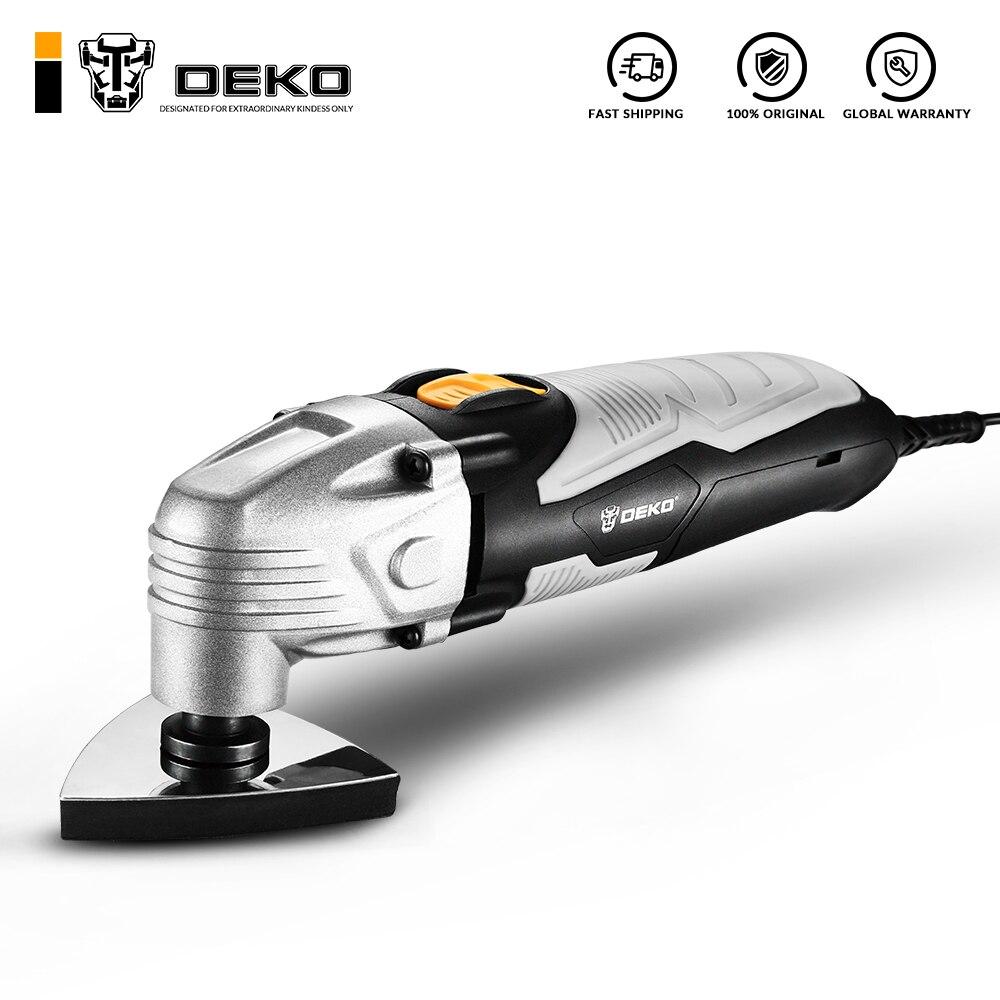 Электрический многофункциональный Осциллирующий Инструмент DEKO DKOM40LD1/2, 220 В, электрический триммер, пила с регулируемой скоростью и аксессу...