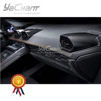 Forged / Plain Carbon Fiber Inner Air Vent Fit For 2014-2019 Huracan LP610-4 & LP580-2 Coupe Spyder Air Con Vents Replacement