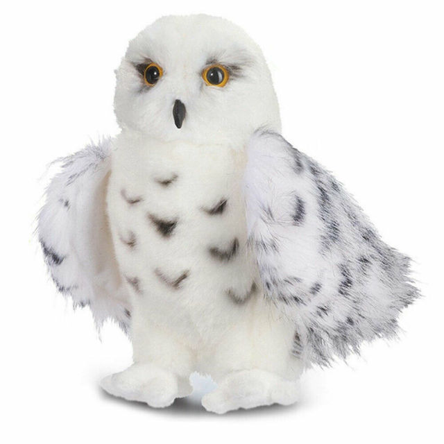 8''-12''Hot Premium SnowyWhite Baby Kids Plush Toys Stuffed Hedwig Owl Toy Adult Kid Gift Cute Lovely Hot Sellings Toys Doll