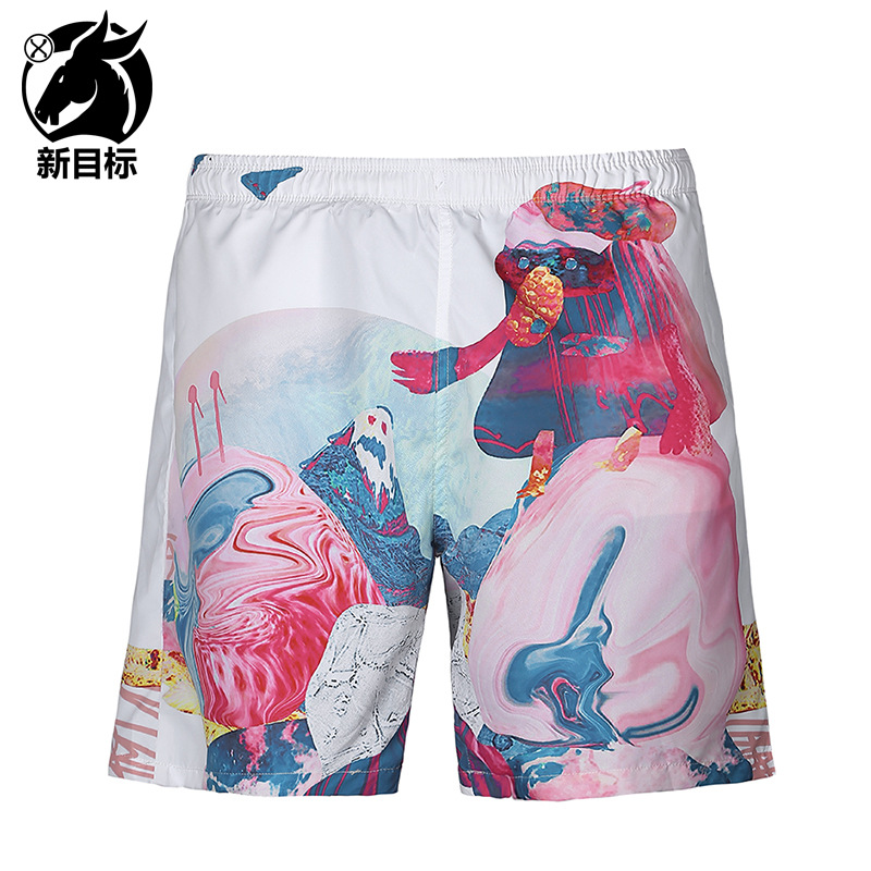 Foreign Trade Hot Selling  Summer New Style Shorts Creative Fashion 3D Printed Beach Shorts Popular Brand Casual MEN'S Swimm
