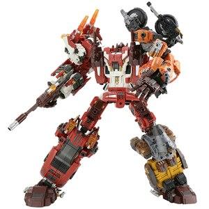 Робот-трансформер Warbotron, 5 в 1, модель из фильма «компьютер», 38 см, KO B3900